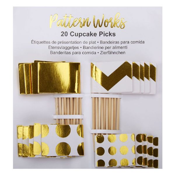 Pattern Works Cupcake Picks (20)